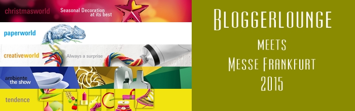 Bloggerlounge Trendscouting Tour zur Tendence 2015